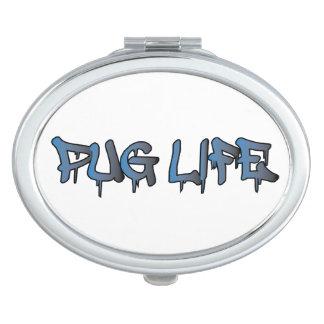 Pug Life Makeup Mirror