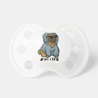 Pug life pacifier
