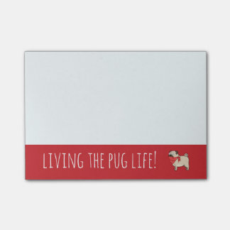 Pug Life Post-it® Notes