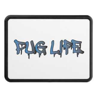 Pug Life Trailer Hitch Cover