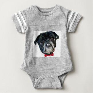 PUG love Baby Bodysuit