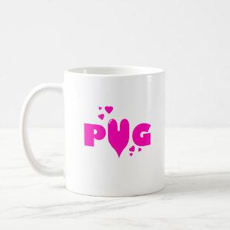 Pug Love Coffee Mug