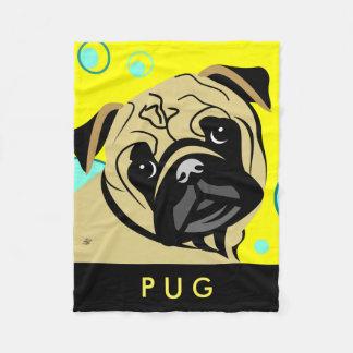 Pug Lover Gifts Fleece Blanket