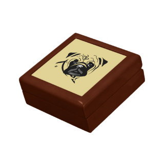 Pug Lover Gifts Gift Box