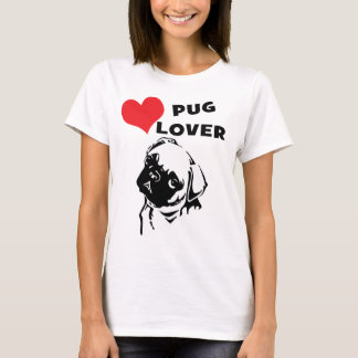 Pug Lover Value T-shirt