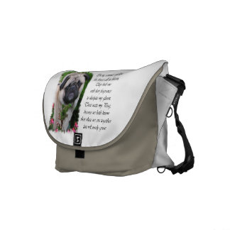 Pug Lovers Gifts Courier Bag