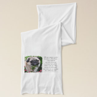 Pug Lovers Gifts Scarf
