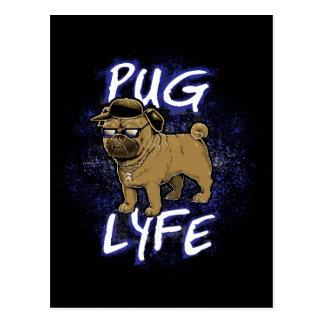Pug Lyfe Postcard