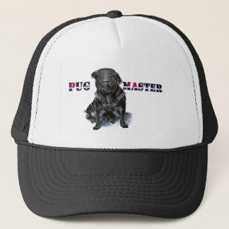 Pug Master Trucker Hat