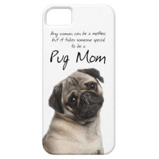 Pug Mom iPhone 5 Case