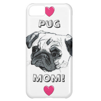 Pug Mom iPhone 5 Case-Mate Case