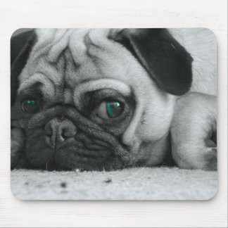 "Pug mousepad ""Breena"""