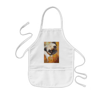 PUG MUG Love for all the PUG Lovers Kids Apron