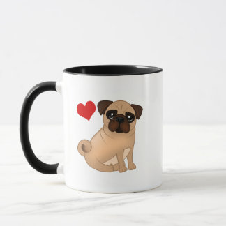 Pug Mug - My Heart Belongs to My Pug!