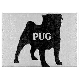 pug name silo cutting board