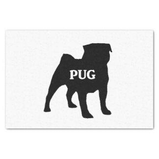 pug name silo tissue paper