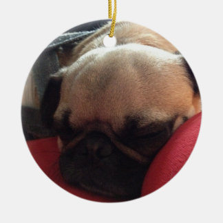Pug ornament