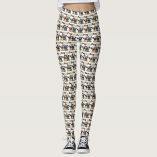 pug pals leggings