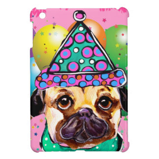 Pug Party Dog iPad Mini Covers