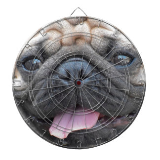 Pug Pet Dog Dartboard