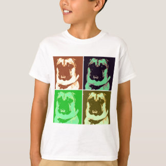 Pug Pop Art T-Shirt