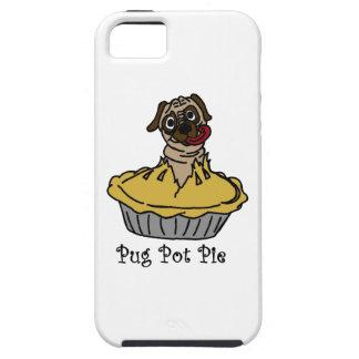 Pug Pot Pie iPhone 5 Cover