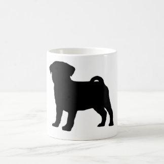 Pug Print Coffee Mug