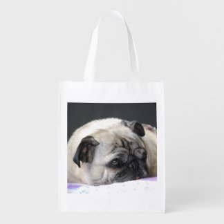 PUG - PUG - photo Jean Louis Glineur Reusable Grocery Bag