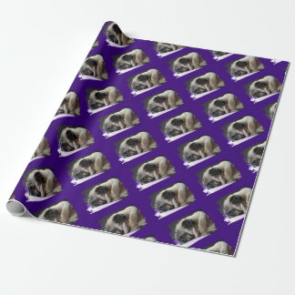 Pug ~ pug ~ Photography Jean Louis Glineur Wrapping Paper