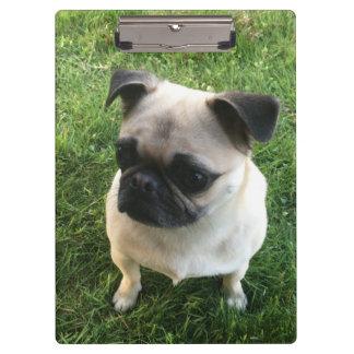Pug Pup Clipboard