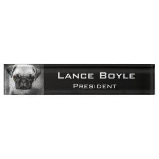 Pug Pup Name Plates
