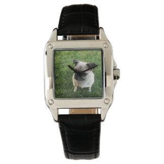 Pug Pup Wristwatch