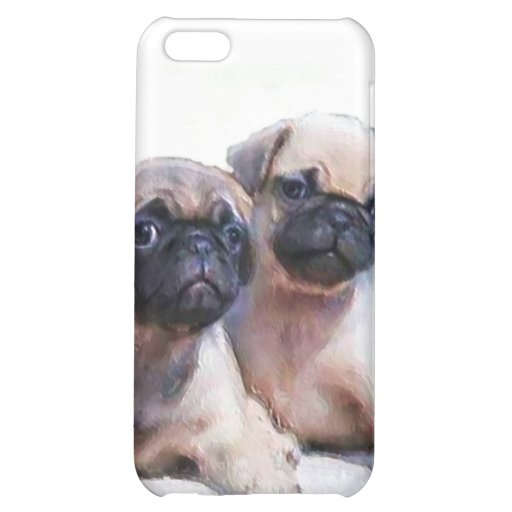 Pug Puppies Speck Case iPhone 5C Case