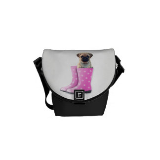 Pug Puppy Commuter Bags