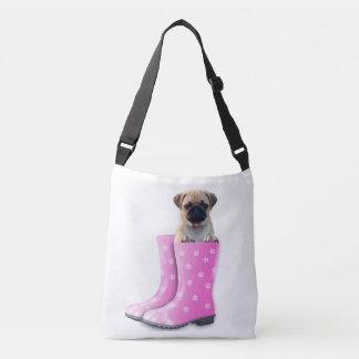 Pug Puppy Crossbody Bag