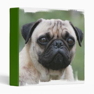 Pug Puppy Dog Binder