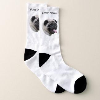 Pug puppy dog socks
