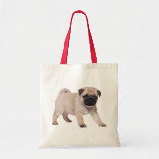 Pug Puppy DogCanvas Tote Bag