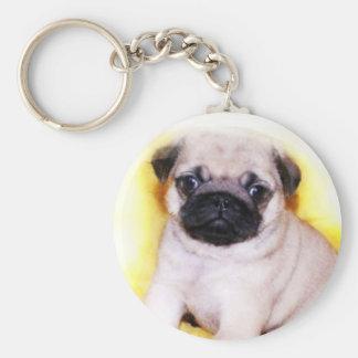 Pug Puppy keychain