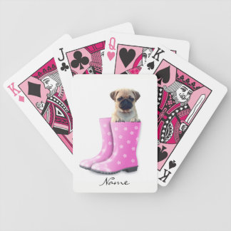 Pug Puppy Poker Deck