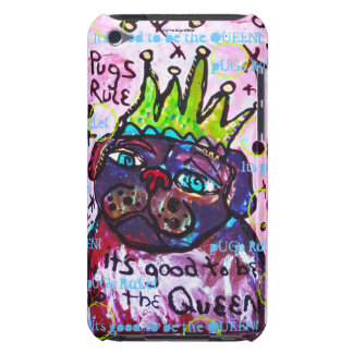 Pug Queen Barely There iPod Case