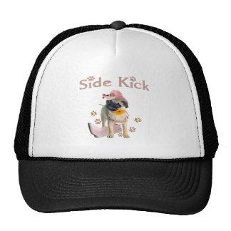 Pug Side Kick Trucker Hat