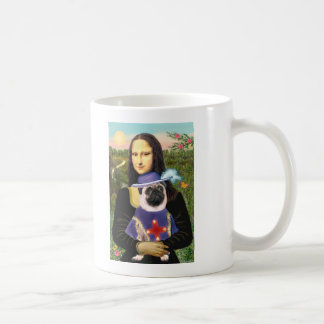 Pug (Sir) - Mona Lisa Coffee Mug