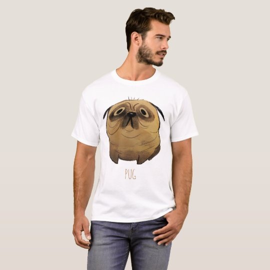 PUG T-shirt for men