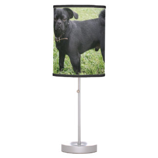 Pug Table Lamp
