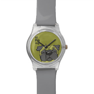 Pug - The Dog Table Wristwatch