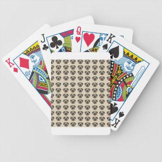 pug tile bg bicycle playing cards