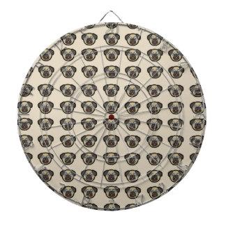 pug tile bg dartboard