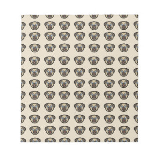 pug tile bg notepad