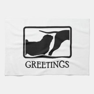 Pug Towels